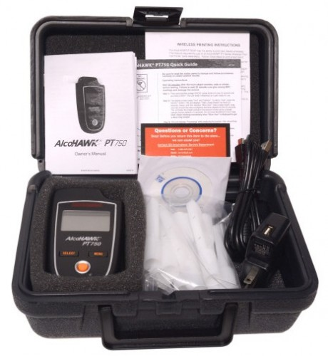 Máy đo nồng độ cồn AlcoHAWK PT750