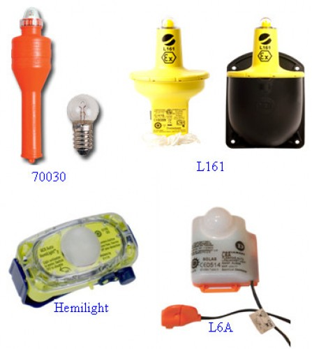 Lifesaving signal light all types